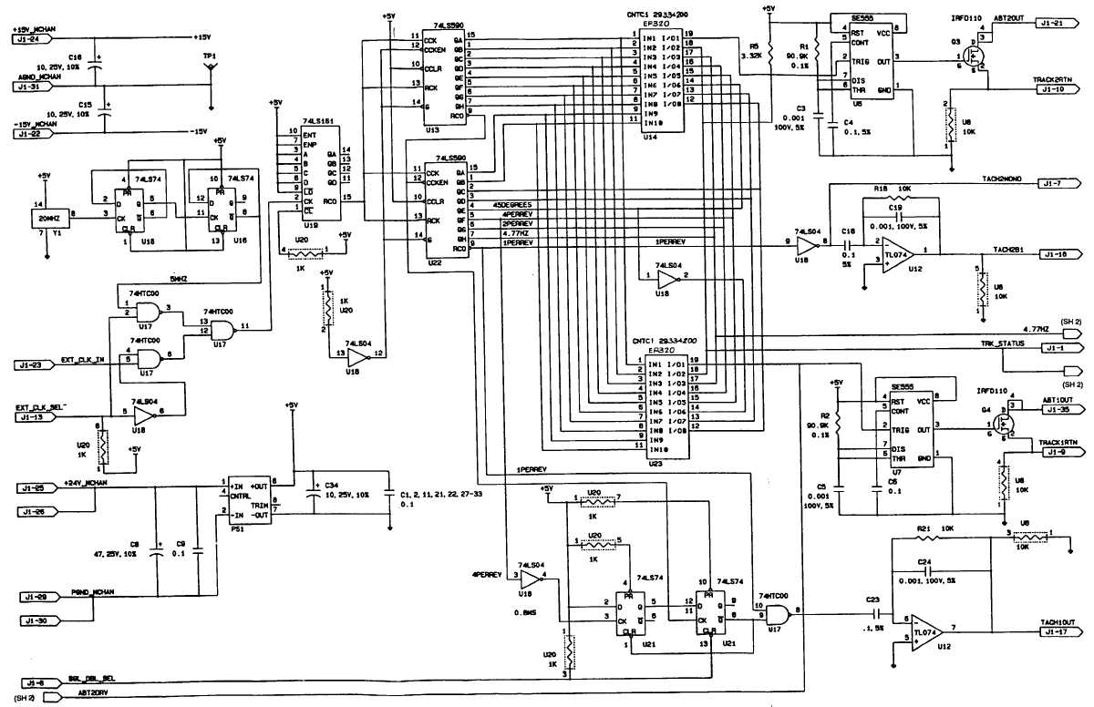 FO-1. SIGNAL GENERATOR SCHEMATIC DIAGRAM (SHEET 1 OF 4)
