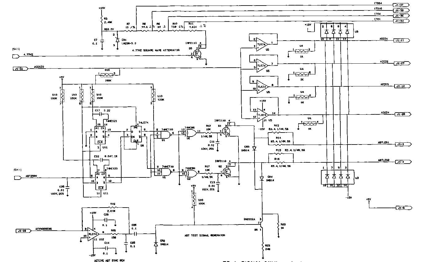 fo    signal generator schematic diagram  sheet  of  signal generator schematic diagram  sheet  of   fp    fp  blank