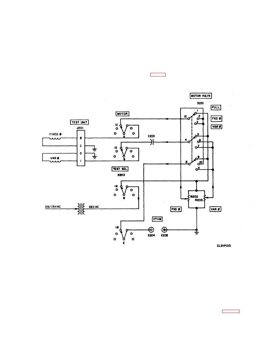 Figure 5 6 Low Inertia Motor Test Circuit Schematic Diagram