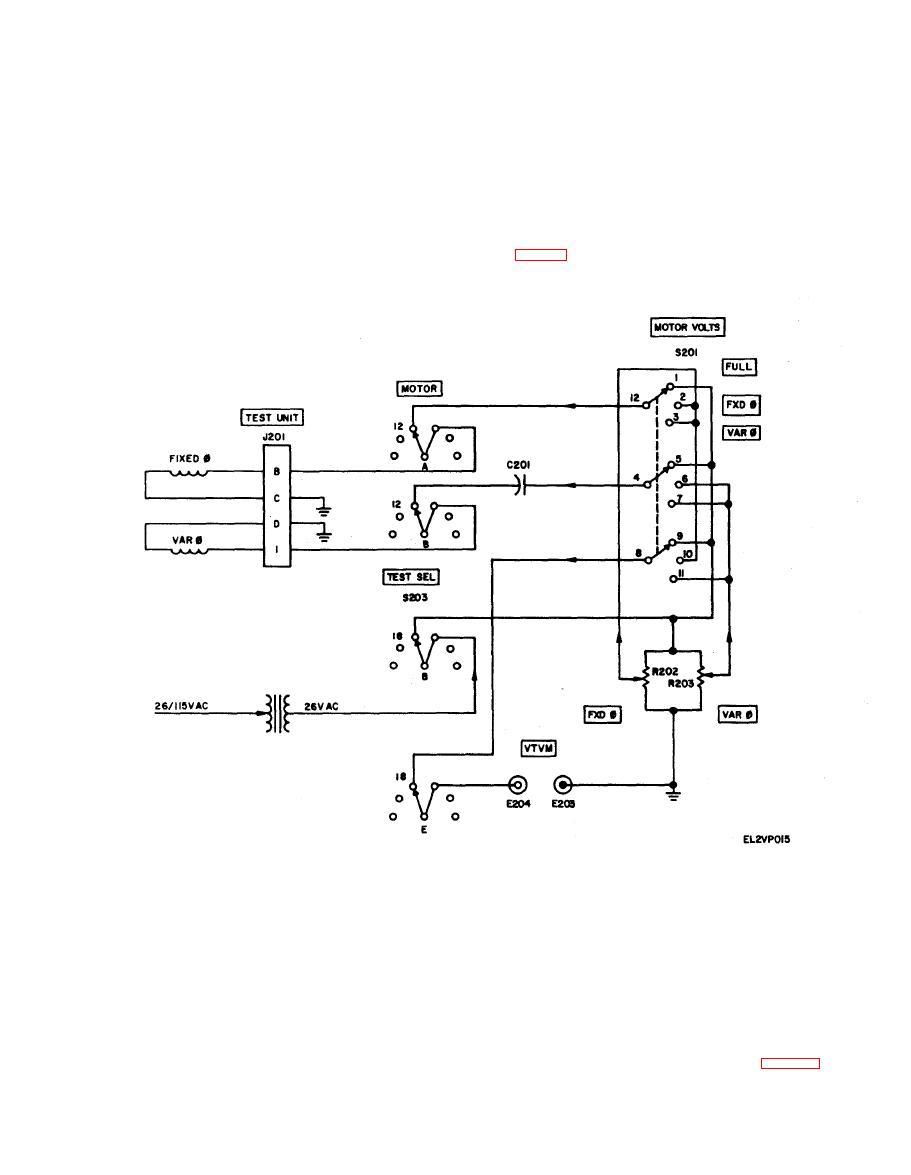 Figure 5 6 Low Inertia Motor Test Circuit Schematic Diagram