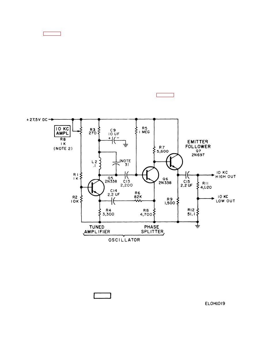 Figure 2 19 10 Khz Oscillator Circuit Simplified Schematic Diagram 5v Dc Relay