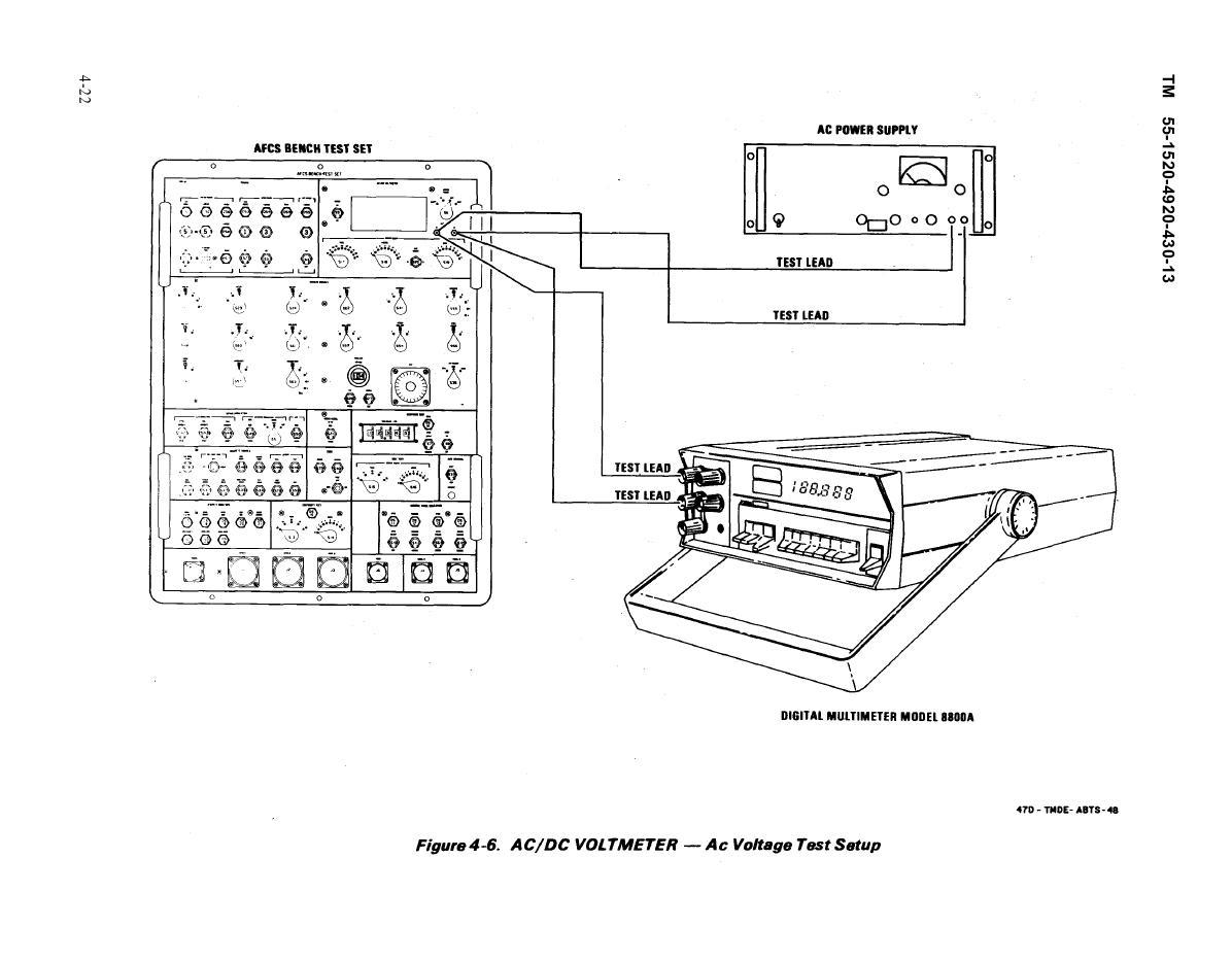 figure 4-6  ac  dc voltmeter