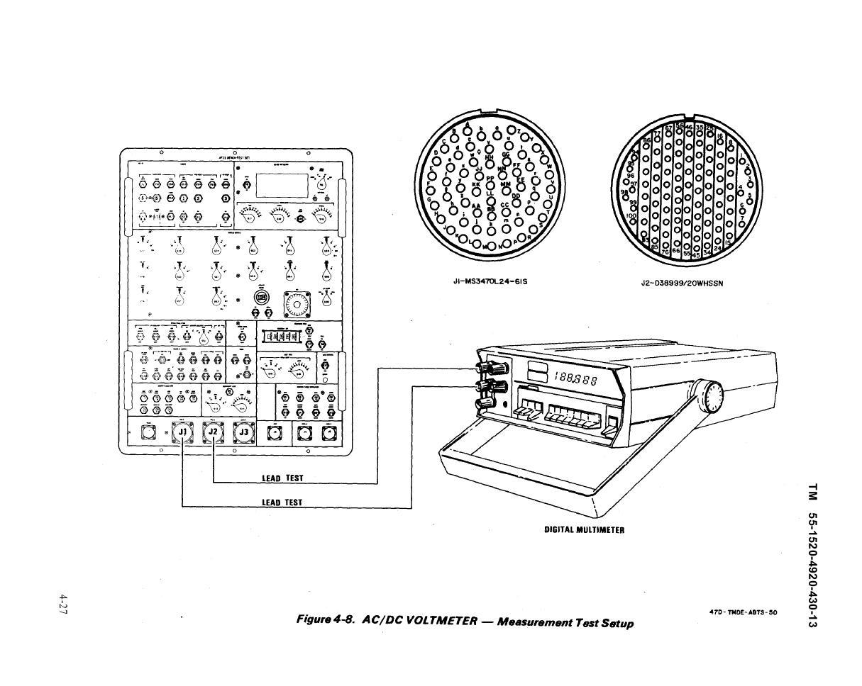 figure 4-8  ac  dc voltmeter